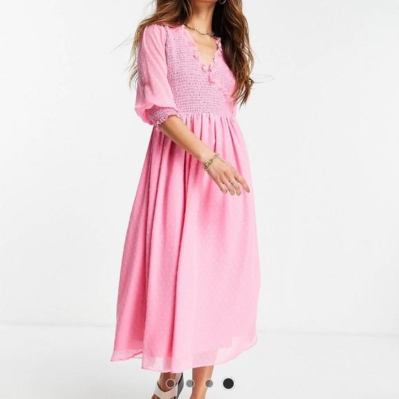 ASOS midi mock dress